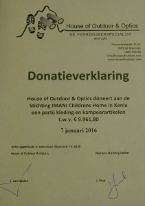 Donatie kleding